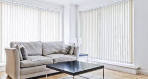 The Difference Between Panel Glides and Vertical Blinds -